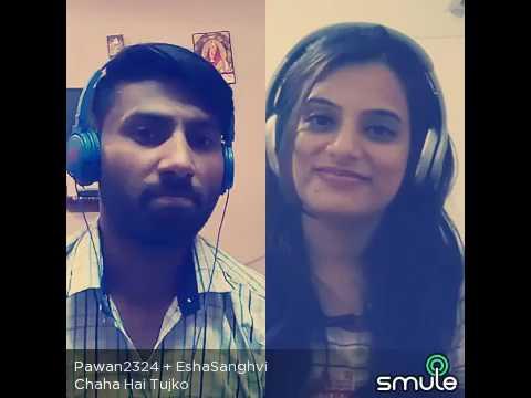 Chaha hai tujhko chahunga har dam.. By pawan chauhan live on Smule