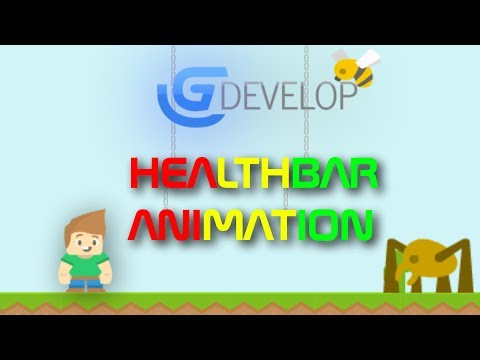 Health bar animation : Gdevelop 5 thumbnail