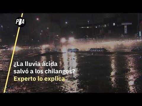 Experto explica lluvia ácida en la CDMX