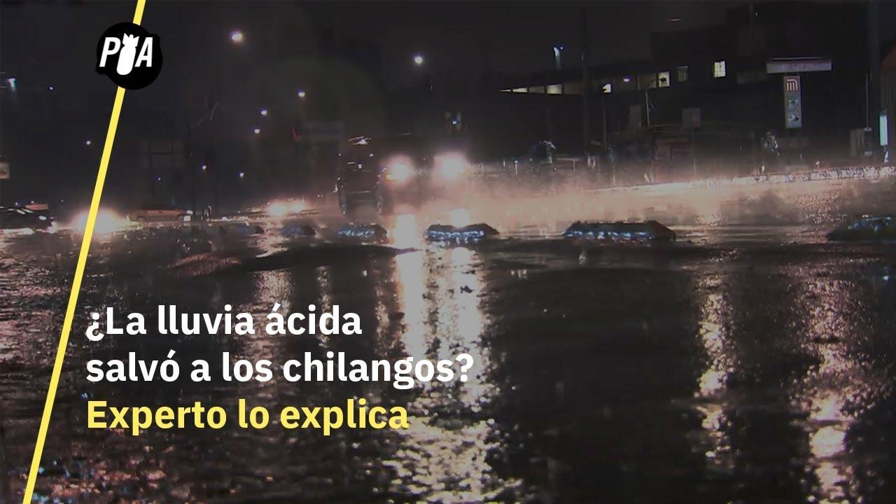 Experto explica lluvia ácida en la CDMX YouTube