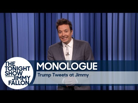 Trump Tweets at Jimmy – Monologue