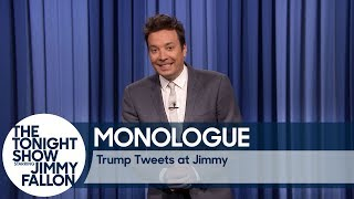 Trump Tweets at Jimmy - Monologue