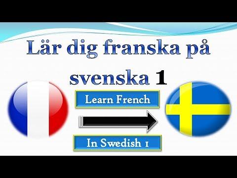 Lär dig franska på svenska 1