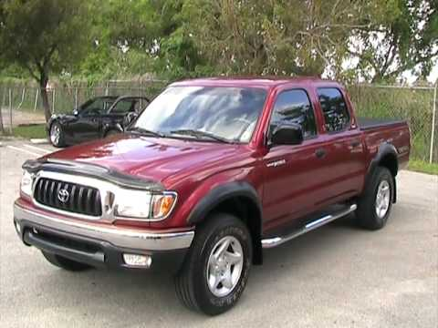 2003 Toyota Tacoma Prerunner V6 4dr Double Cab Youtube