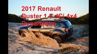 2017 Renault Duster 1.5dCi Dynamique 4x4 off road review and test drive