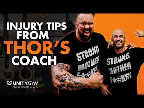 How To Prevent Injury Tips From Thor Bjornsson's Coach