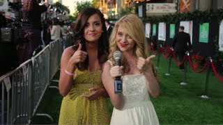 Megan and Liz: Odd Life of Timothy Green Premiere Thumbnail