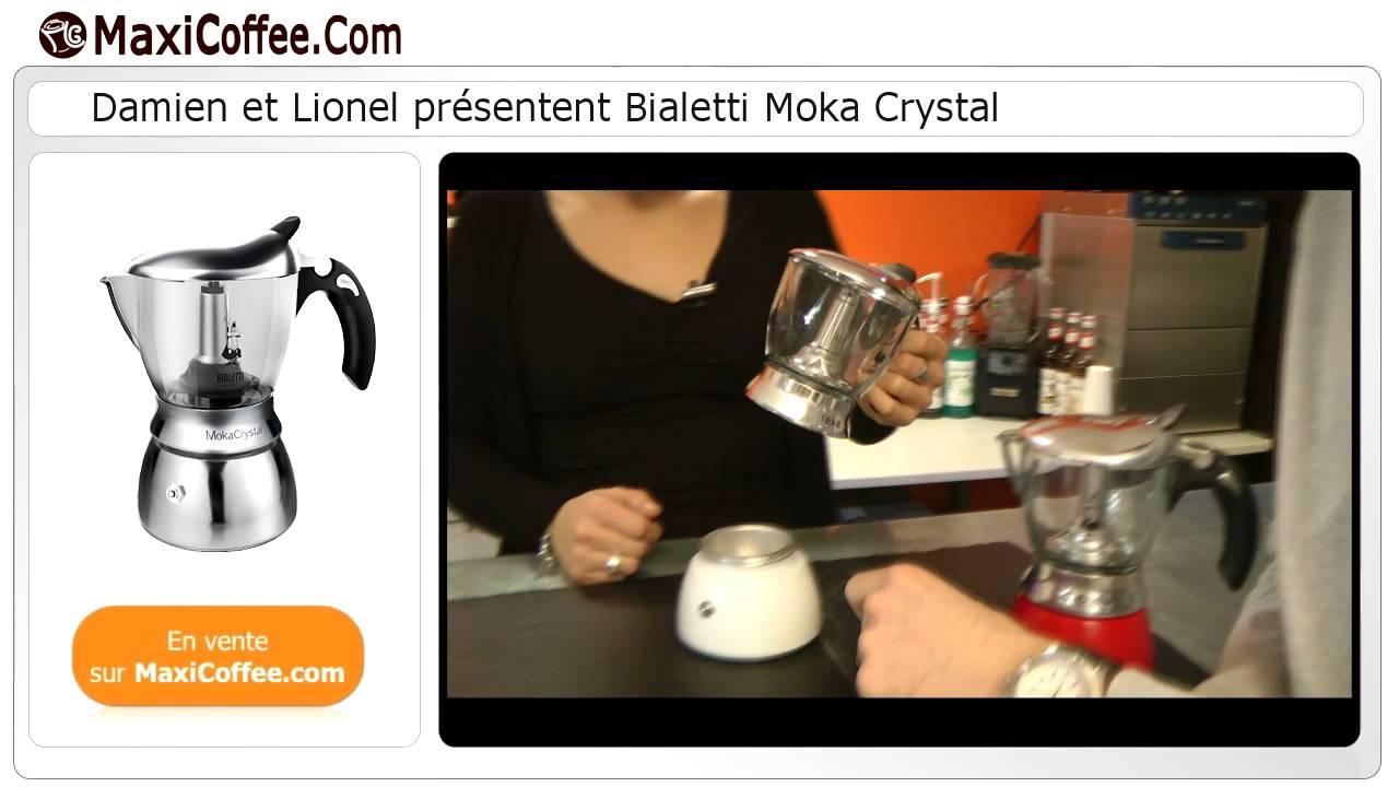 Présentation de la cafetière Bialetti Moka Crystal - YouTube