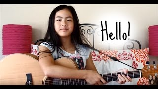 Hello ~ Adele ~ Fingerstyle Guitar Cover ~ Lanvy