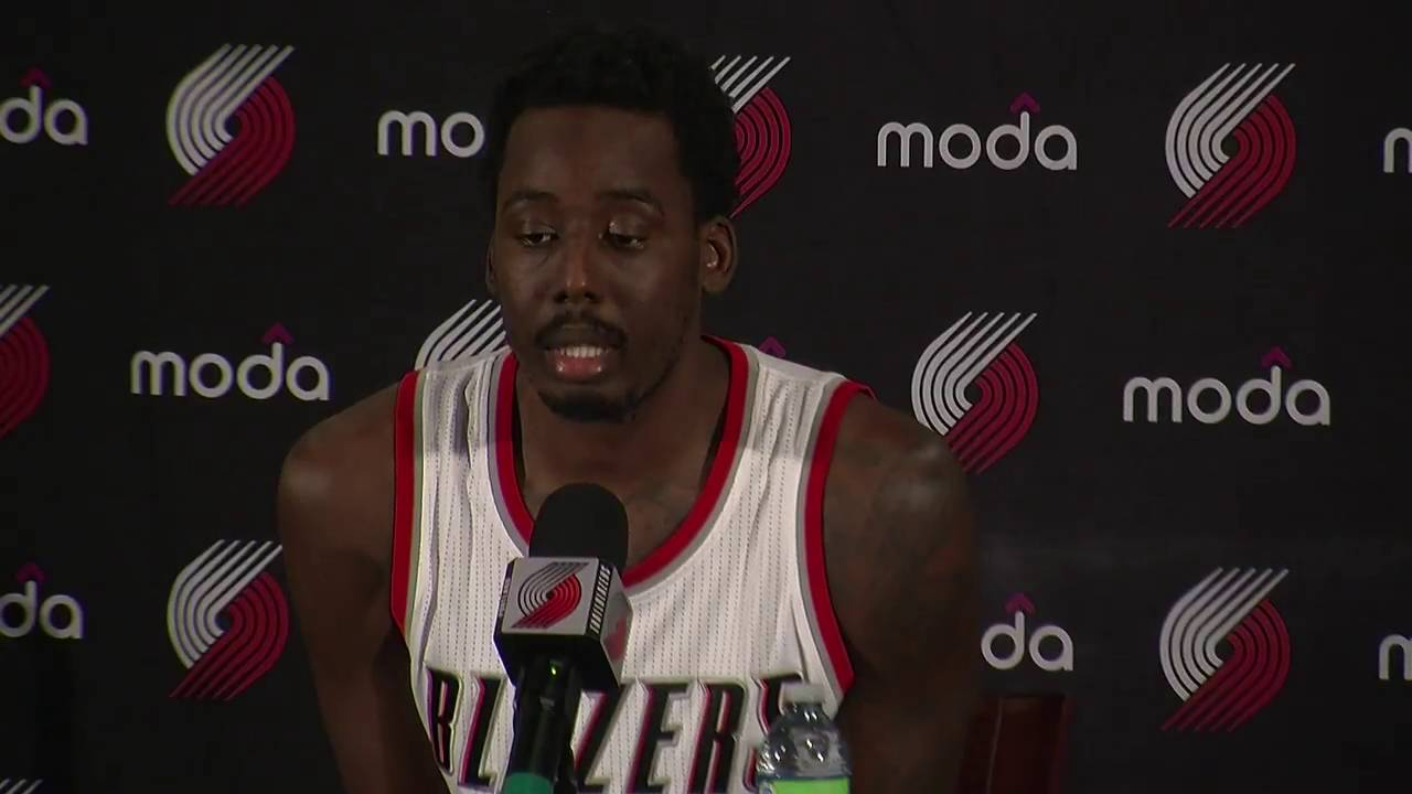 Al-Farouq Aminu talks about changing positions for the 2016-17 season