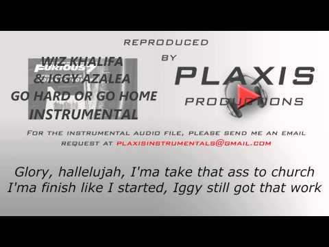 Wiz Khalifa Ft. Iggy Azalea - Go Hard Or Go Home Type Beat Instrumental - послушать онлайн в формате mp3 на большой скорости