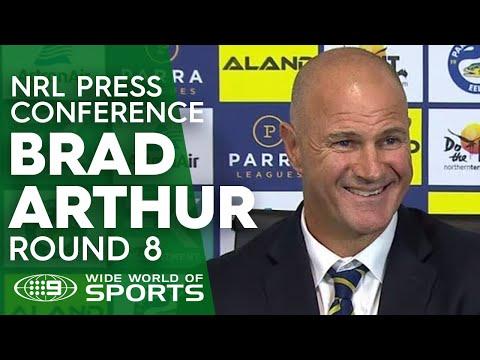 NRL Press Conference: Brad Arthur - Round 8 | NRL on Nine