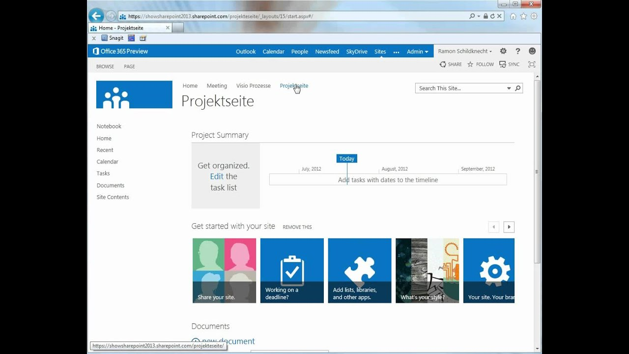 SharePoint 2013 Site Templates verwenden - YouTube