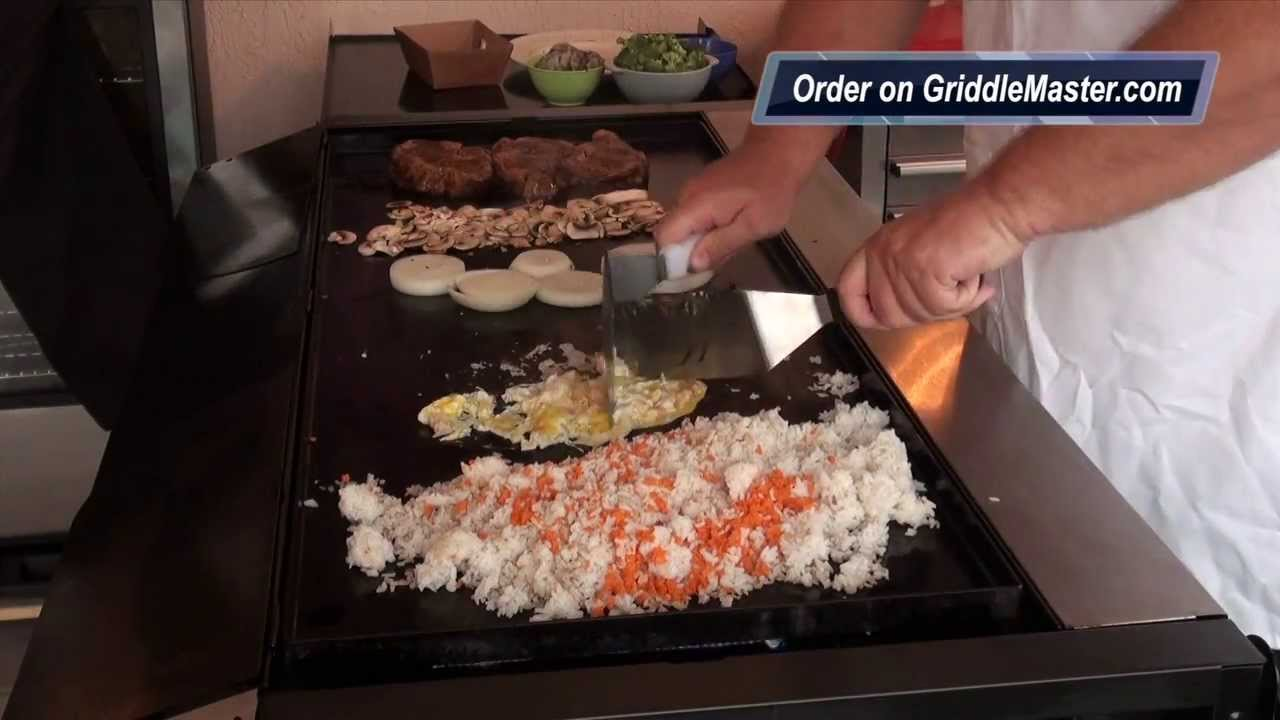 Griddle Master Video 1014 Teppanyaki Recipe Habachi