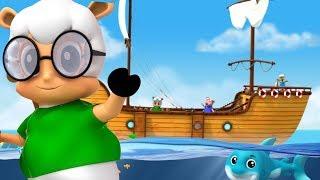 Я видел парусный корабль   дошкольные песни   I Saw A Ship Sailing   Nursery Rhymes   Kids Songs