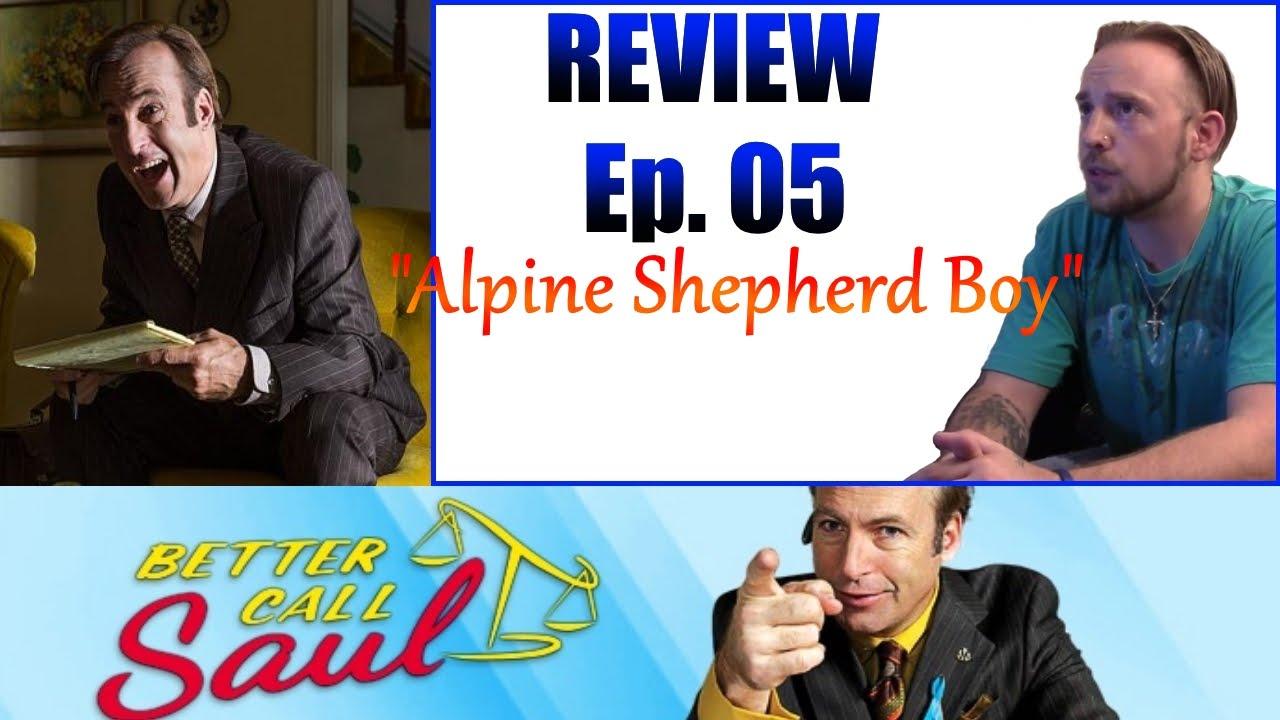 "Better Call Saul Ep.05 ""Alpine Shepherd Boy"" Rating & Review - YouTube"