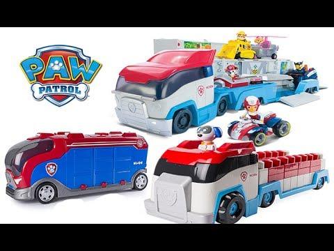 PAW PATROL PAW PATROLLER LEGO DUPLO PAW PATROLLER MISSION CRUISER, ZUMA HYDRO SKI, ROCKY REPAIR KART