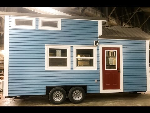 """Incredible Tiny Homes Live:  """"Seattle Blue"""" Tiny Tour and Teaching How to Build a Tiny"""