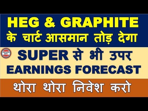 HEG & Graphite India gets huge earnings forecast | Excellent future prospect to be multibagger