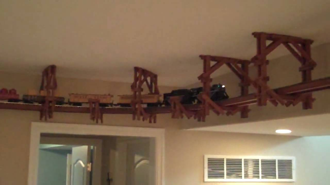 Ceiling Train Kit Video 3 Youtube