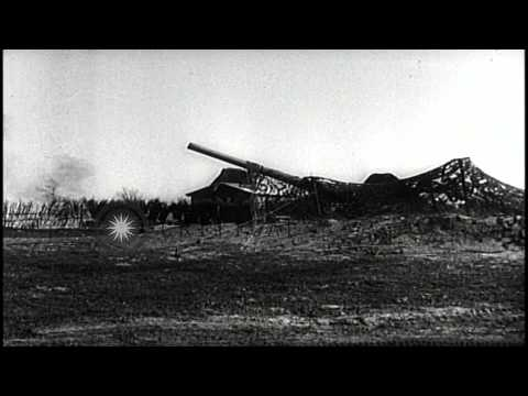 United States soldiers fire at Nazis in Italy. HD Stock Footage