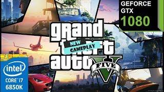 GTA V PC Gameplay #1   Geforce GTX 1080   1080p   60 FPS   Max Settings