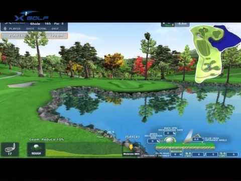 X GOLF シミュレーションゴルフ