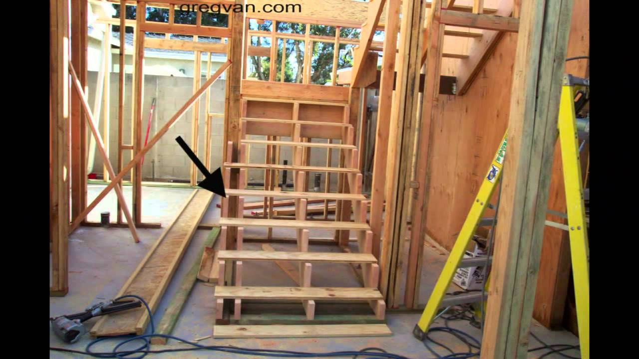Interior Load Bearing Walls and Concrete Footings - Part ...