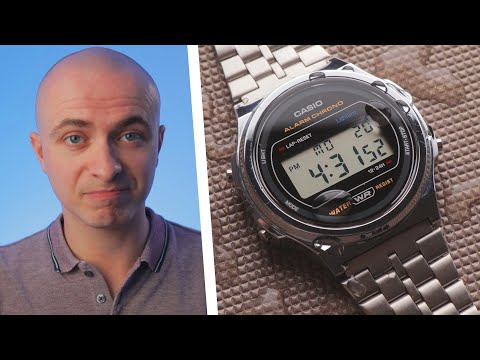 The Latest Digital Casio Is Incredibly Cool, But...