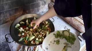 Paella De Verduras Y Bacalao ¡riquÍsima!