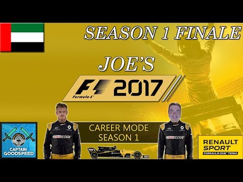 F1 2017 Career Mode | Renault Road to Glory S01 FINALE | CRAZY CHAMPIONSHIP DECIDER! | F1 2017 Game