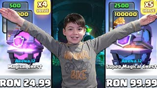 SUPER MAGICAL CHEST OPENING - SPECIAL HOLIDAY OFFERS - Clash Royale