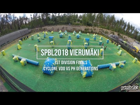 Cyclone VDO vs PH Generations - 1st Division Finals - SPBL2018 Vierumäki