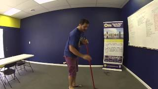 100th Video! How to Sweep a Floor - Yellow Ladder Tip of the Day #64