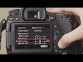 Turning The Sharpness Down On DSLR Cameras
