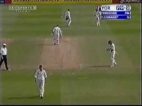 Darren Lehmann 51* (B&H Cup QF 2001) Somerset v Yorkshire