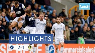 Highlights | Millwall 2-1 Leeds United | 2019/20 EFL Championship
