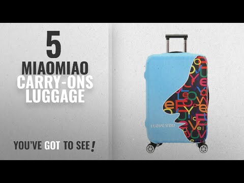 Miaomiao Carry-Ons Luggage [2018]: Lever Trunk Protective Case Elasticity Travel Suitcase Protective
