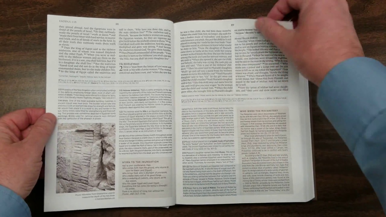 ESV Archaeology Study Bible Review with Comparisons
