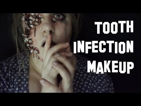 Teeth Infection makeup - Inspired by Colin Christian