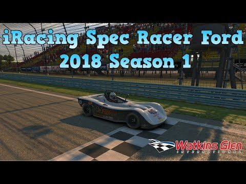 iRacing Spec Racer Ford Challenge Livestream | 2018 Season 1 | Watkins Glen | 4th and FINAL ATTEMPT