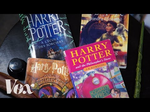 Video image: Harry Potter and the translator's nightmare