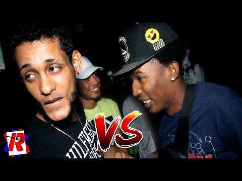 🔥FUEGOO!!! EL TINYO RD. VS. KIKO FLOW🎤 - BATALLA DE FREESTYLE EN LOS MAMEYES