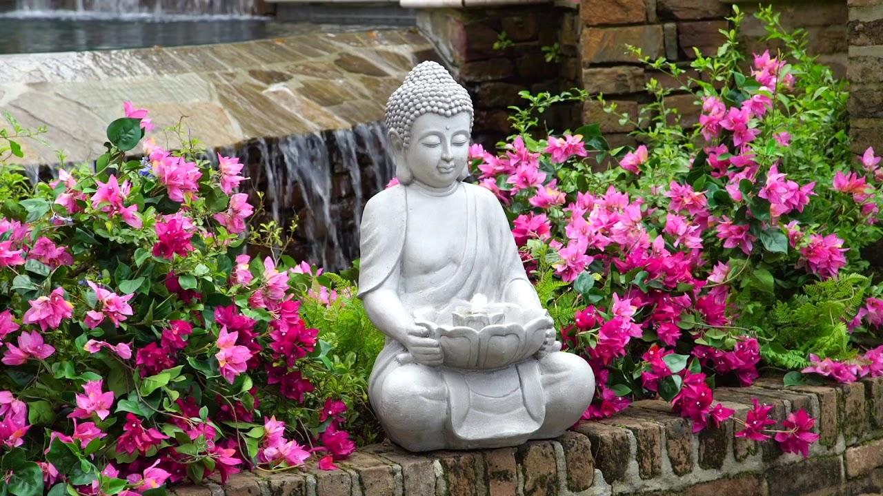 Indoor Outdoor Buddha Fountain Youtube
