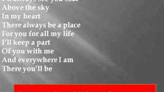 Faith Hill - There You