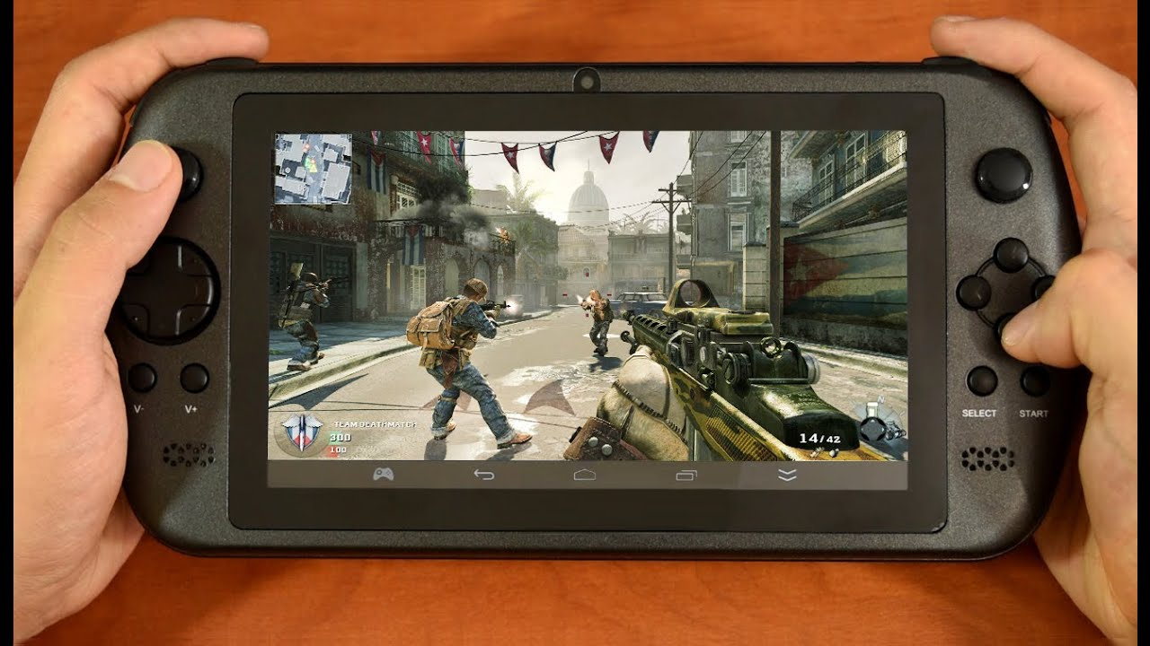 consola videojuegos tablet android