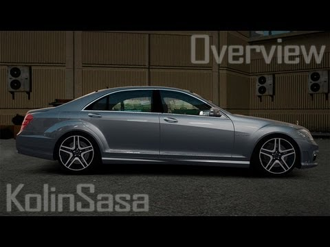 Mercedes-Benz S65 W221 AMG Stock v1.2