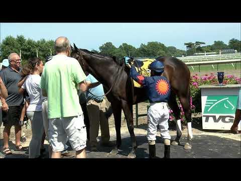video thumbnail for MONMOUTH PARK 7-26-19 RACE 5 – SPRUCE FIR HANDICAP
