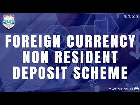 Foreign Currency Non Resident Deposit Scheme - FCNR (B)
