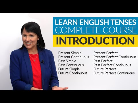 Learn English Tenses (complete course): Lesson 1